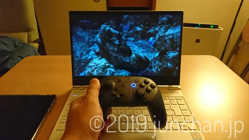 Nintendo Switch ProコントローラでFF XIIIをプレイ!
