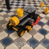 ロボット教室で作ってきた汽車
