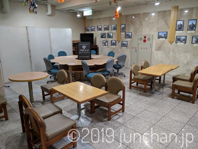 佐久平駅1階のワークスペース