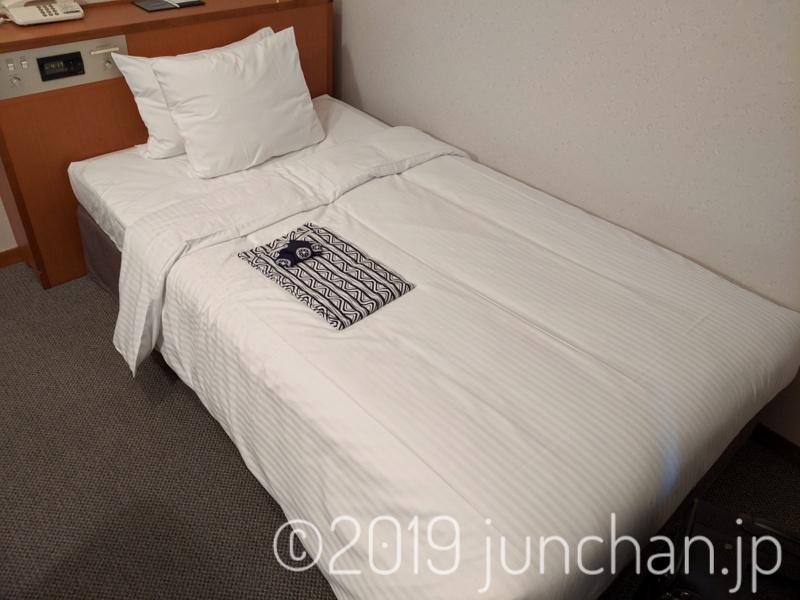 ホテル サン クレイン 客室 ベッド