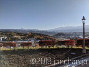 平尾温泉 みはらしの湯から眺めた景色