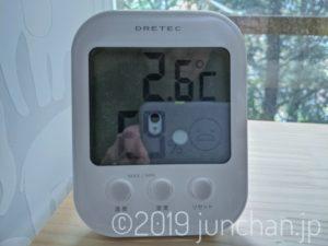 室温も3℃以下に