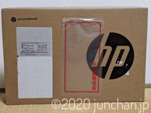 HP Chromebook x360 14b 外箱