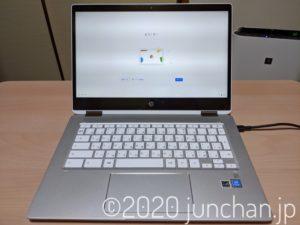 HP Chromebook x360 14b 本体