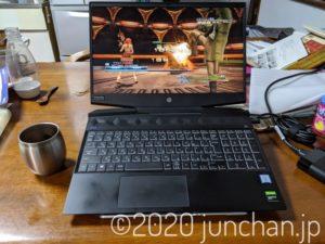 「HP Pavilion Gaming 15 (インテル) パフォーマンスモデル」で「FF XIII」を試す