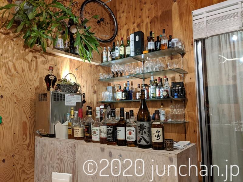 green room care & bar counter