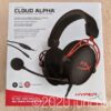 HyperX Cloud Alpha 外箱