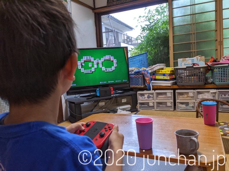 息子のテレビゲームデビュー
