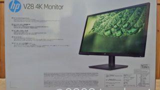 HP V28 4K Monitor 外箱