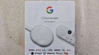 Chromecast with Google TV 外箱