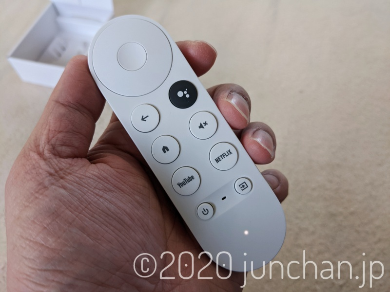 Chromecast with Google TV リモコン