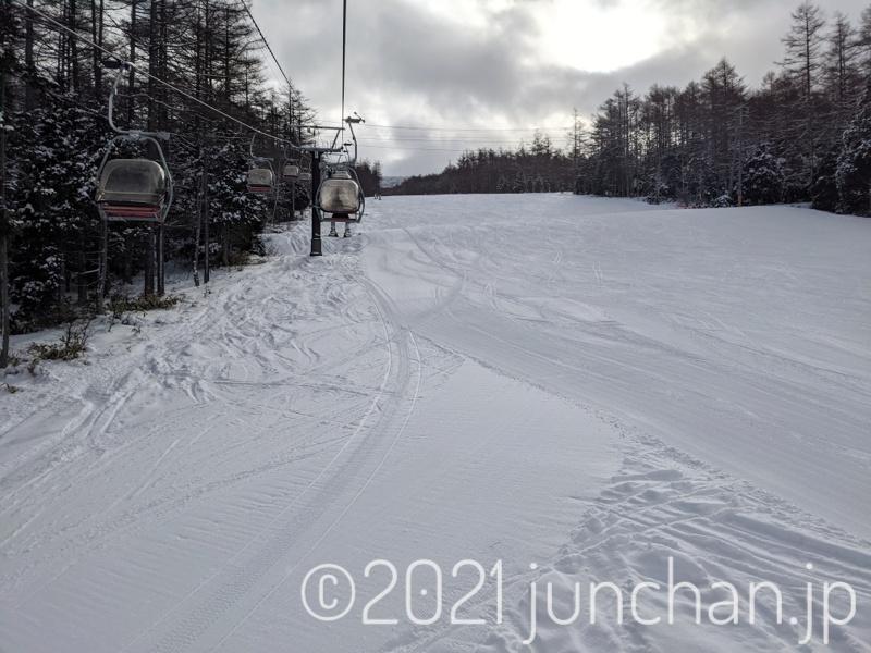 湯の丸スキー場 第6ゲレンデ