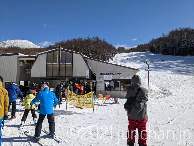湯の丸スキー場 湯の丸高速カプセルリフト