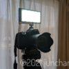 撮影用ライト PIXEL G1sをカメラにマウント