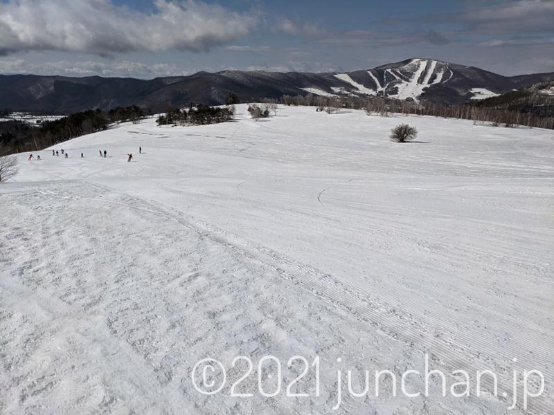 ダボスエリア 一面の雪原