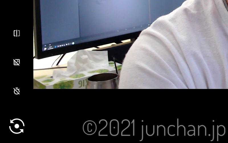 Lenovo IdeaPad Duet Chromebookのカメラアプリ
