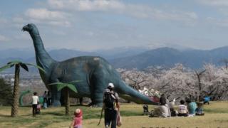 茶臼山恐竜園にある恐竜たち