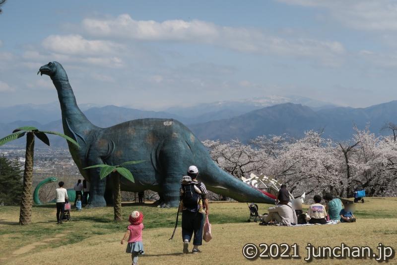 茶臼山恐竜園