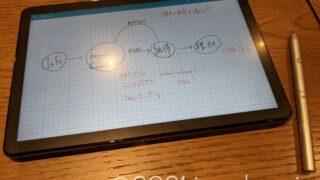 Lenovo IdeaPad Duet Chromebookで手書き