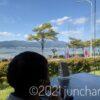 諏訪湖が一望できるレストラン